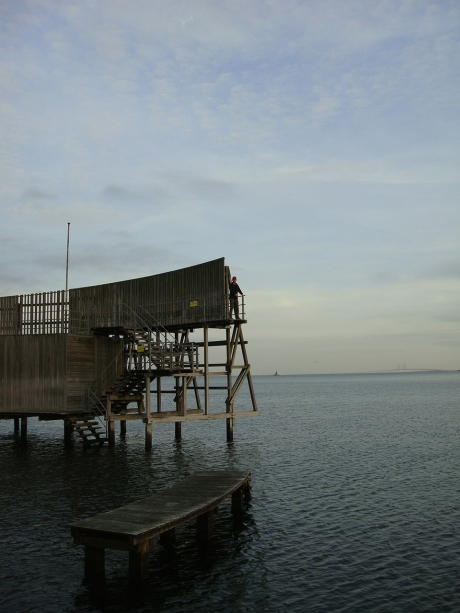 The Kastrup Seabath (soøbad) was closed for swimming but still accessible.