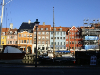 The postcard-favourite harbour of Nyhavn.