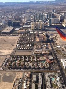 Aerial of the Las Vegas Strip