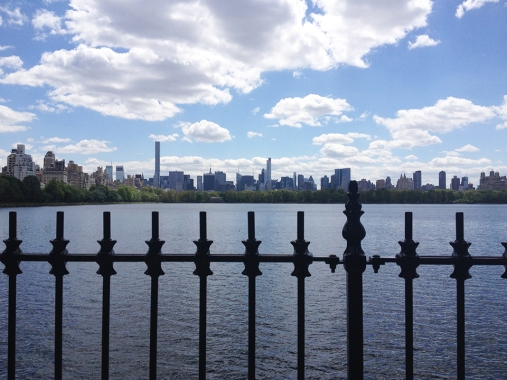 Skyline from Central Park Reservoir