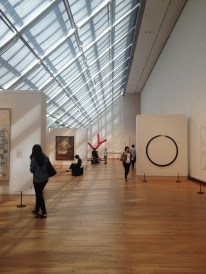 Modern Art gallery at the Metropolitan Museum of Art