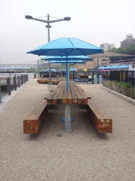Umbrellas, Brooklyn Bridge Park