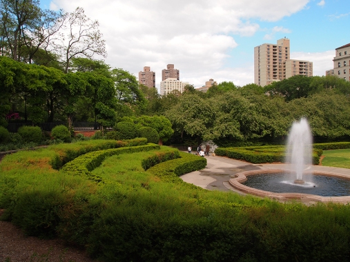 The French Garden at Central Park